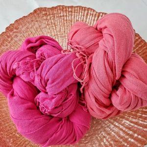 Coral scarf   BCBG